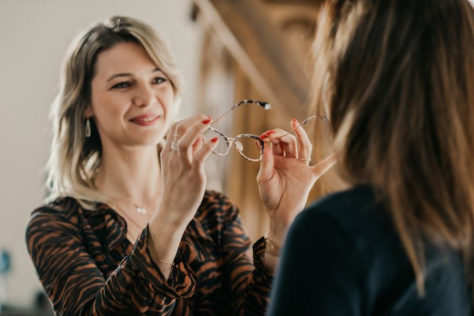 Lunettes correctrices à Illfurth